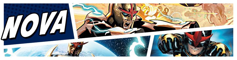 Nova Original Marvel Animation Art | HeroWiz