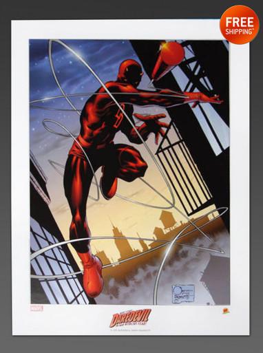 Joe Quesada Daredevil Art Print