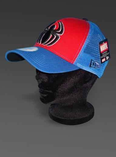 New Era Hat Spider-Man Classics Marvel Comics Adjustable Style Trucker Cap