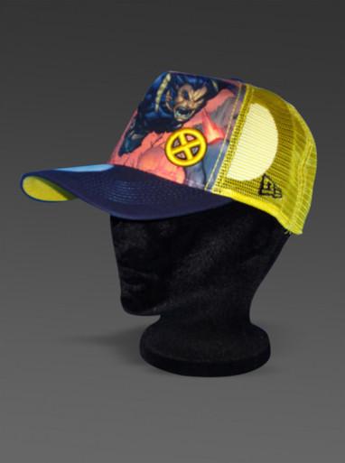 New Era Adjustable Hat ULTIMATE WOLVERINE X-Men Marvel Comics Trucker Style