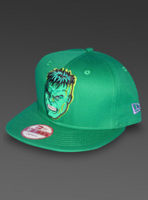 Hulk New Era 9Fifty Snapback Hat Marvel Comics Adjustable Cap