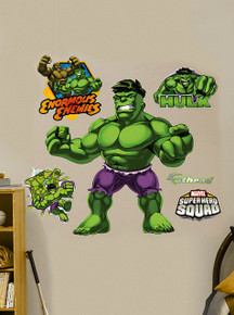 Super Hero Squad Incredible Hulk Wall Mural