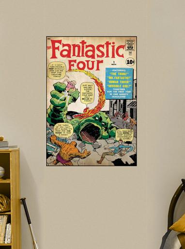 Wall art Fantastic Four #1 - Fathead Wall Graphic