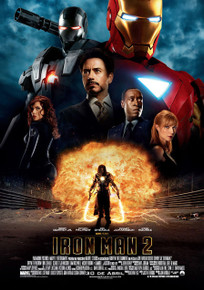 IRON MAN 2 Movie POSTER 27x40 Spanish Robert Downey Jr Scarlett Johansson Kate