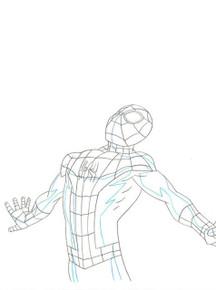 Ultimate Spider-Man Original Marvel Production Art S01E10 Sc 33-S90