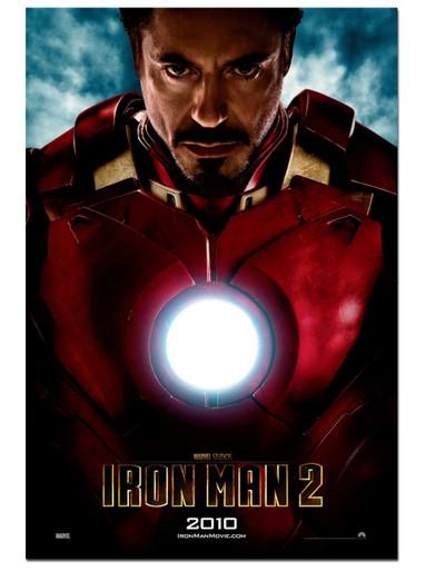 "Iron man 2 Movie Poster Light box. ""Heartless"""
