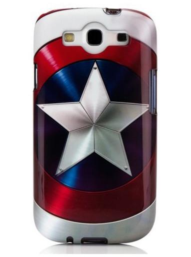 Shield Captain America Samsung Galaxy SIII Phone clip case