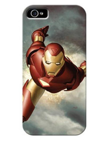 iPhone 5 Iron Man Clip Case PDP Marvel Comics Collectors Edition Satin Grip (IP-1891) Product Shot