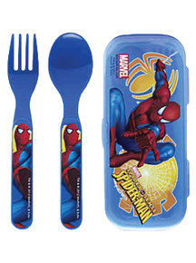 Spider-Man Fork Knife Kit with Case - Zak Design