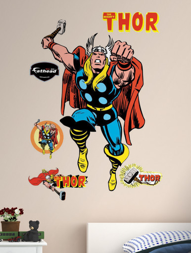 Comic Thor Marvel Fathead Wall Art