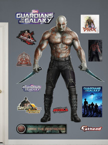 Drax the Destroyer from Marvel's Guardians of the Galaxy Fathead