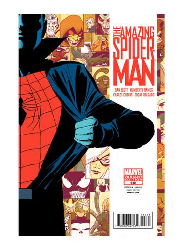 Amazing Spider-Man #648C - Marcos Martin Wraparound Variant Cover