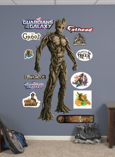 Groot Guardians of the Galaxy Fathead - Marvel Wall Art Decal
