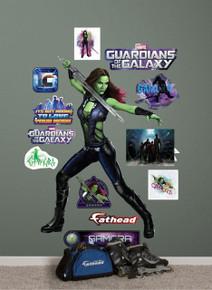Fathead Gamora Marvel - Guardians of The Galaxy Real Big Wall Decal