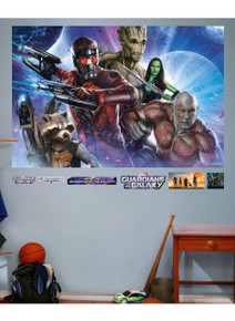 Guardians of the Galaxy Fathead - Wall Mural