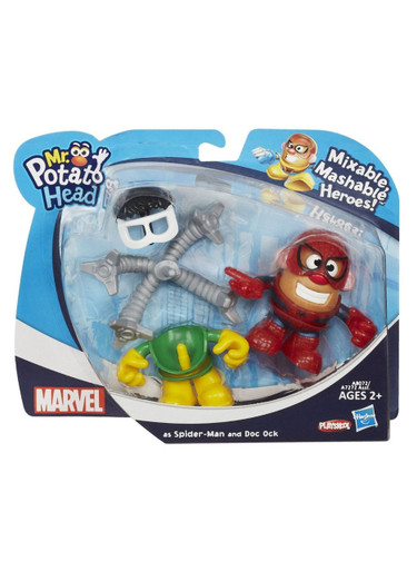 Spider-Man as Mr. Potato Head Mashup Playskool Hasbro Marvel