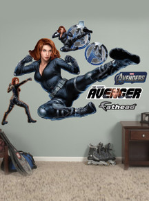 Scarlett Johansson / Avengers Black Widow Fathead Wall Art