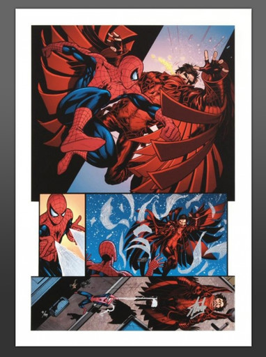 Amazing Spider-Man #594 Canvas Giclee Marvel Artworks Collection Art