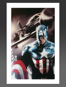 Captain America #609 Canvas Giclee Marko Djurdjevic Marvel Artworks Cover Art