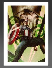 Captain America Hail Hydra #1 Canvas Giclee by Adi Granov