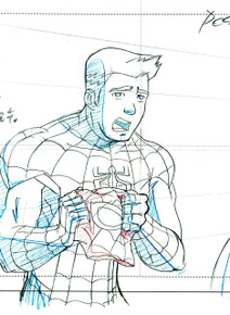 Flash Thompson is cast as Spidey, much to Peter Parker's annoyance.
