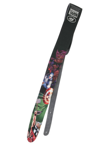 Avengers Peavey Leather Guitar Strap