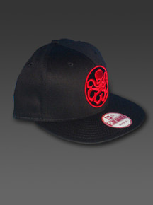 New Era 9Fifty Snapback HYDRA Adjustable Hat Captain America Avengers Red Skull
