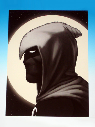 Mondo Mike Mitchell Moon Knight Giclee Proof front