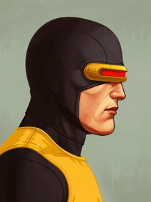 Mondo Mike Mitchell Portrait Giclee print proof Front
