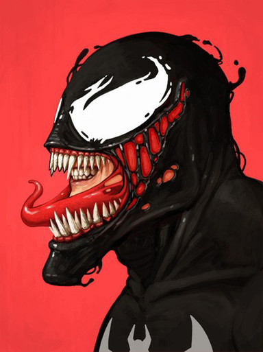 Mondo Mike Mitchell Venom Portrait Giclee