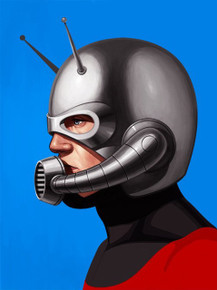 Mondo Ant-Man Mike Mitchell Portrait Giclee Proof