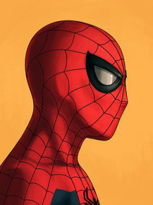 Mondo Spider-Man Mike Mitchell Portrait Giclee Proof