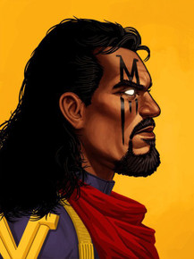 Bishop Portrait by Mike Mitchell for Mondo Proof