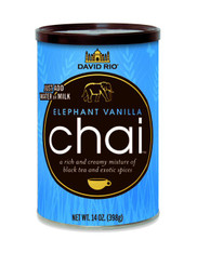 Elephant Vanilla Chai AWARD WINNING CHAI Our first recipe and still one of our most popular. Ingredients are sourced from just the best growers from many countries