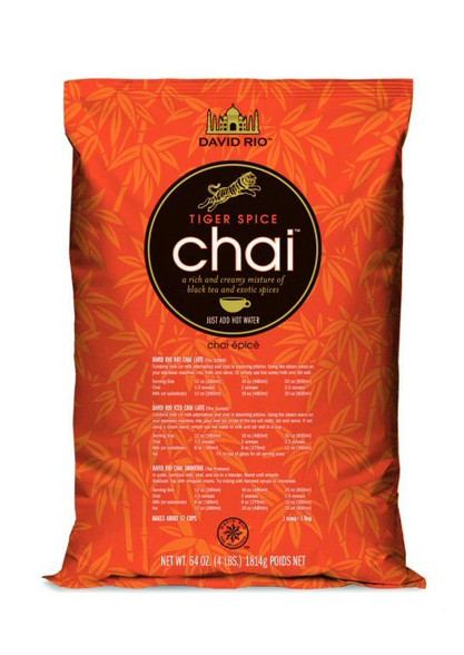 4 x Large 1.836 kg bags Tiger Spice