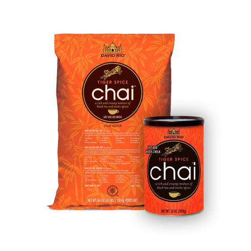 Little and Large Tiger Spice 1 x 1.8 kg bag PLUS 1 x 398 gram reusable cannister Nice
