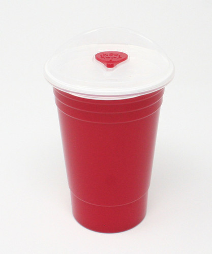 Classic Red Party Cup with a Twist