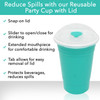 Convenient and Comfortable Lid for your Party Cup