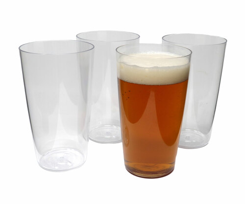 Clear Tritan Pint Glass