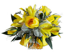 You Are My Sunshine Wristlet Corsage