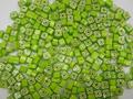 Millefiori Green Squares