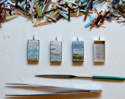Mosaic Arts on Line, Mireille  Swinnen Class