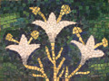 Mosaic Reproduction Kit by Michael Kruzich - Lilies with Gold