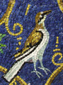 Mosaic Reproduction Kit by Michael Kruzich - Byzantine Bird w/Filagree