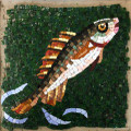 Mosaic Reproduction Kit by Michael Kruzich - Fish Jumping