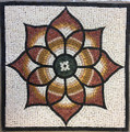 Mosaic Reproduction Kit by Michael Kruzich - Floral Medallion