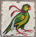 Mosaic Reproduction Kit by Michael Kruzich - Parrot with Scarf