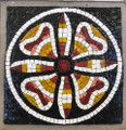 Mosaic Reproduction Kit by Michael Kruzich - Smalti Medallion