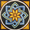 Mosaic Reproduction Kit by Michael Kruzich - Mandala with Gold