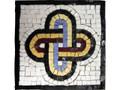 Mosaic Kit - Solomon's Knot Round